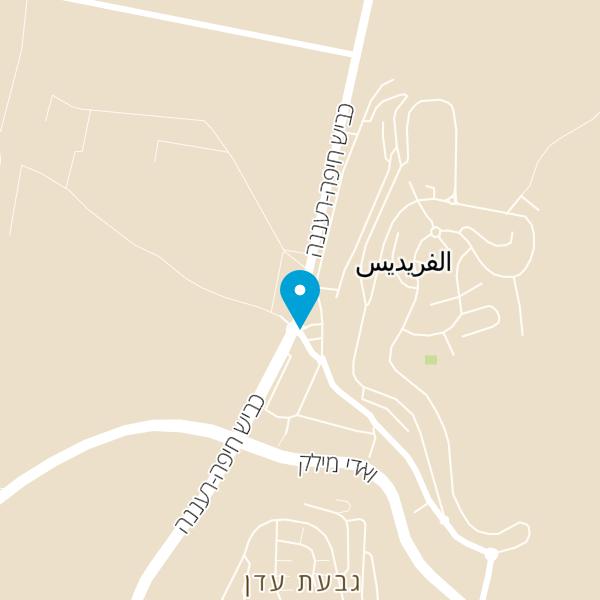 מפה של מסעדת אבו עלי