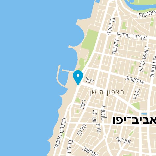 מפה של כיכר אתרים