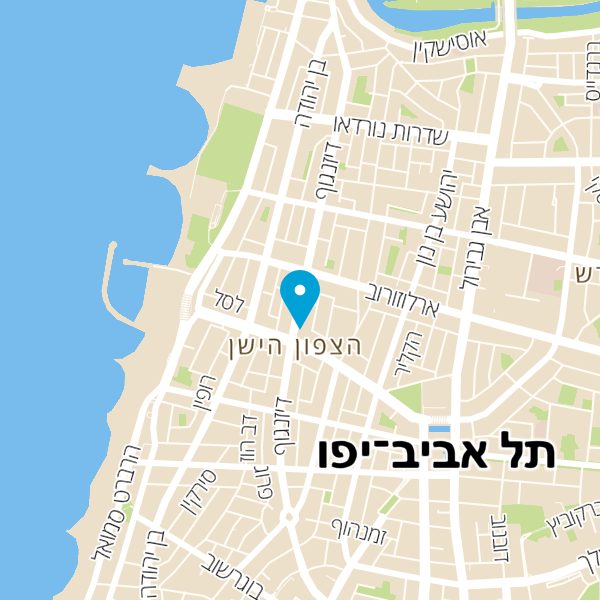 מפה של הראשון בשירות