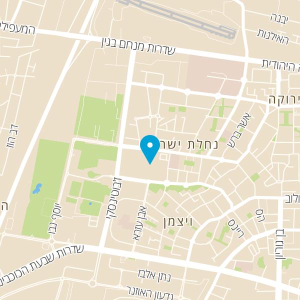 מפה של סטודיו פשוט לזוז הרצליה