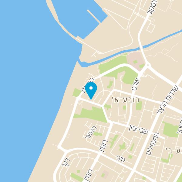 מפה של מסעדת קפה ג'וליה