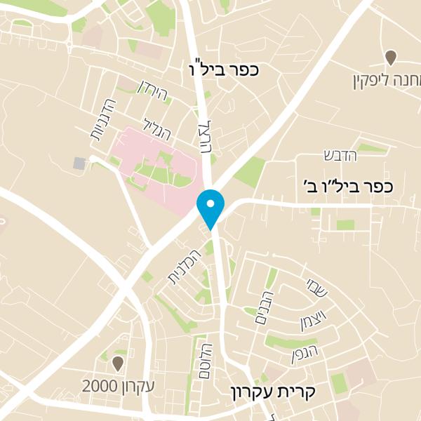 מפה של בילו גריל