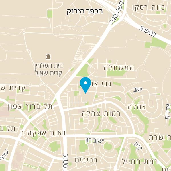 מפה של סטודיו פרטים