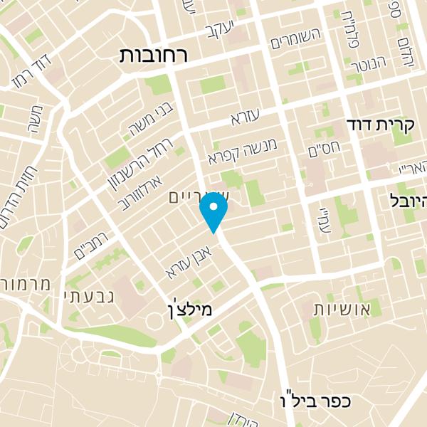 מפה של פלאפל שף