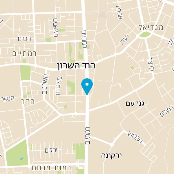 מפה של Shahaf AGam