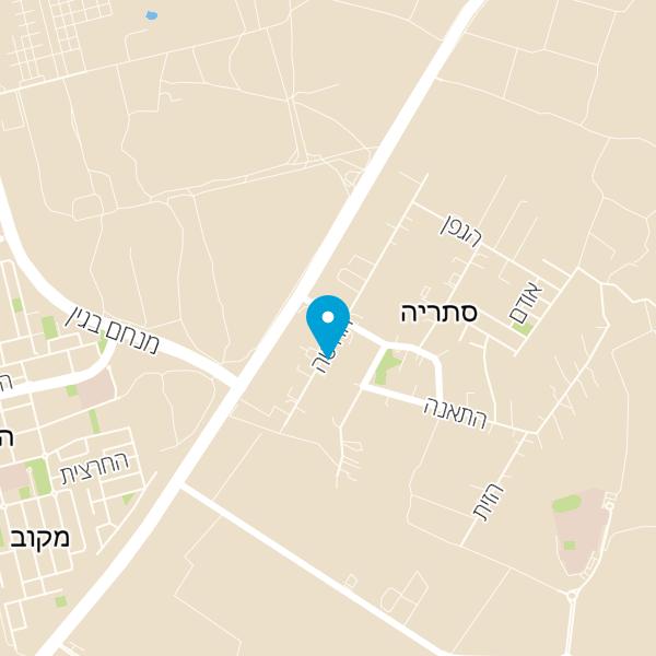 מפה של משתלת סלונר