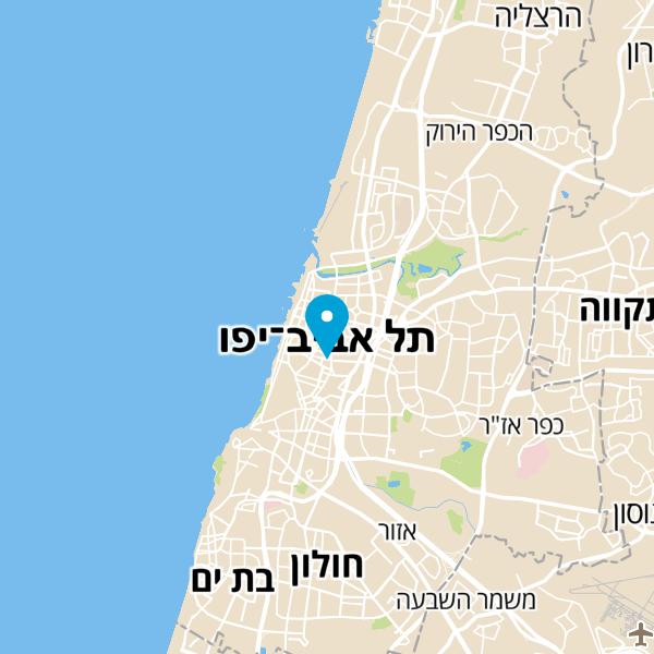 מפה של גן העיר