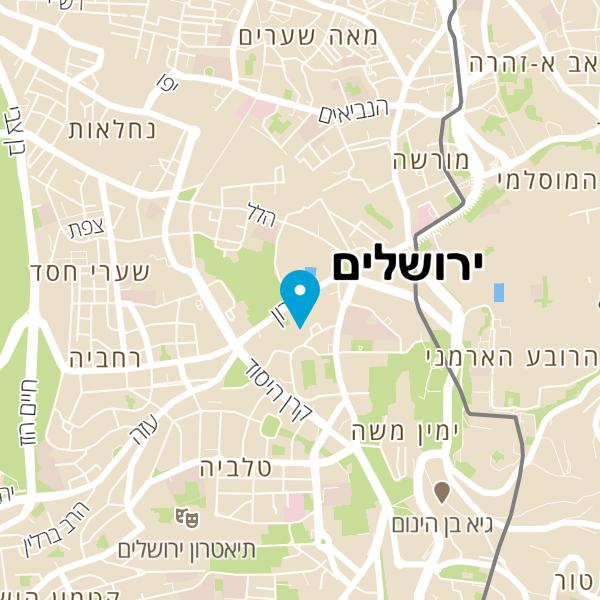 מפה של Baha's Burger