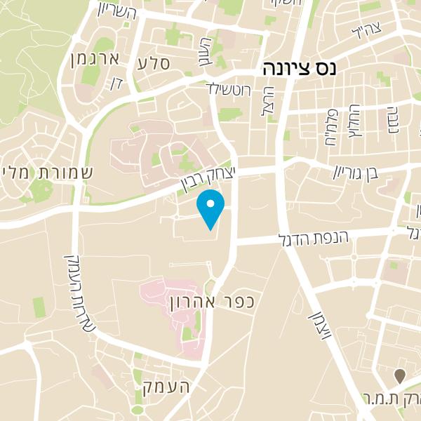 מפה של אצל יוחנן