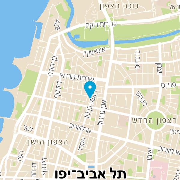 מפה של קפה עלמה בזל