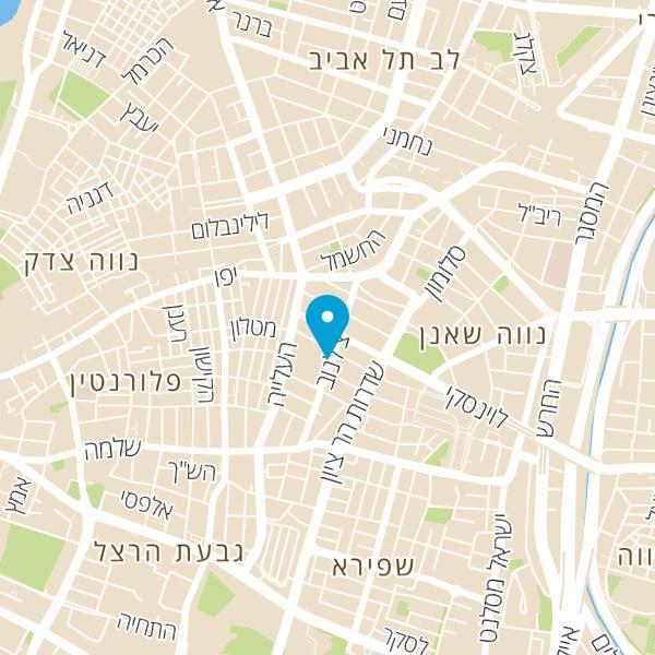 מפה של י.מ. טרופ שיווק