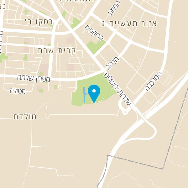 מפה של מוזיאון הילדים הישראלי חולון