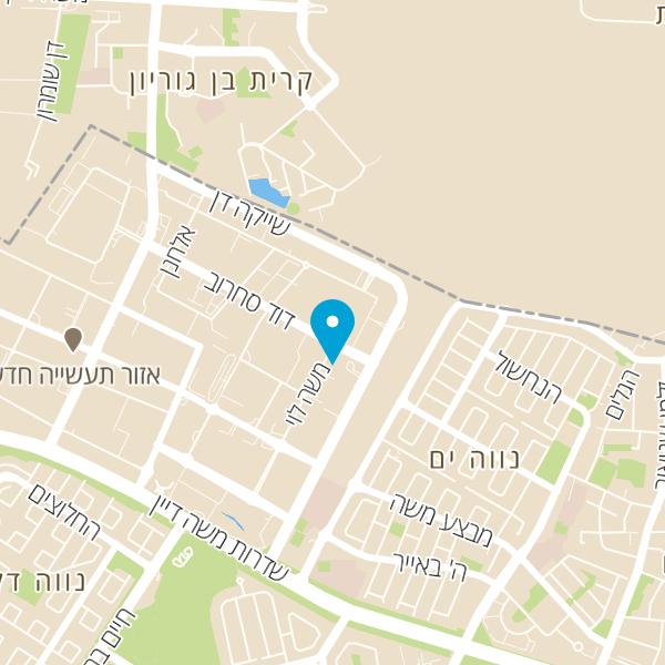 מפה של בורגרס בר
