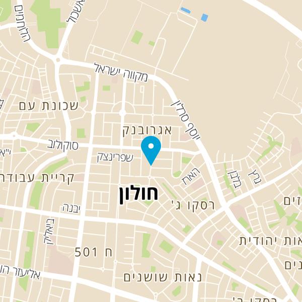 מפה של Netanel's Cafe