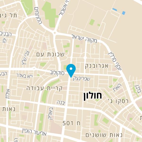 מפה של זד בורגר