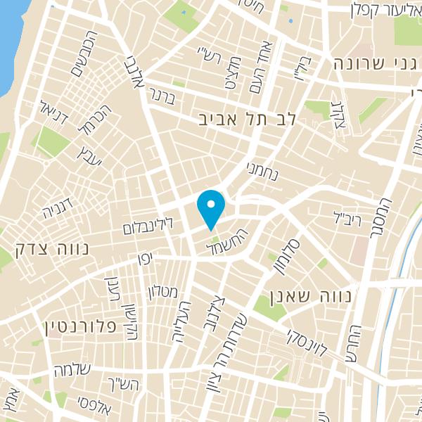 מפה של גרונימן פיצה