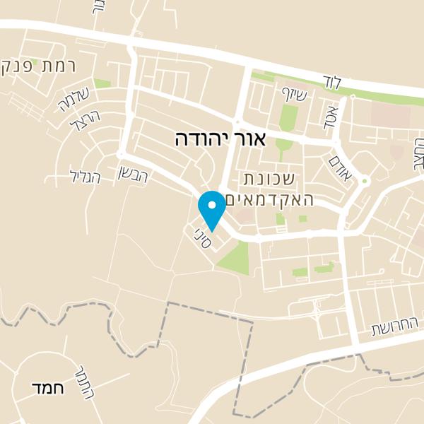 מפה של דודא לפיצה