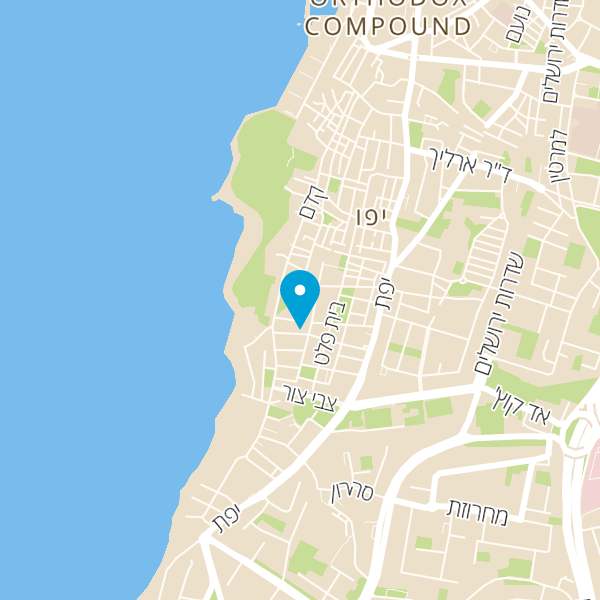 מפה של מסעדת כלת הים