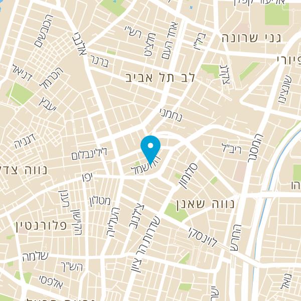 מפה של SUPER PIZZA
