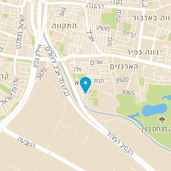 מפה של עידן הסנטר לאופניים