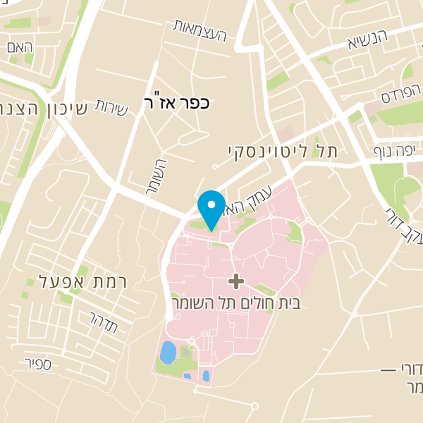 """מפה של ד""""ר דובדבני שי יצחק"""