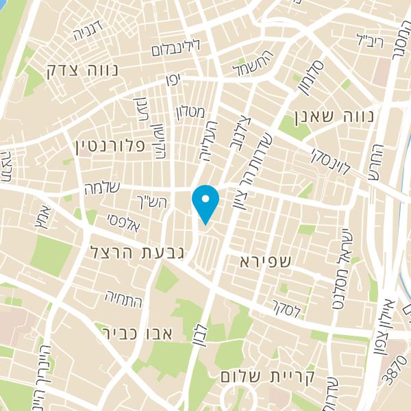 מפה של אלון יהודה סוכנויות לתעשיה