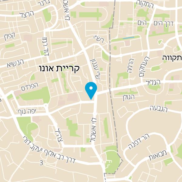 מפה של Keren A