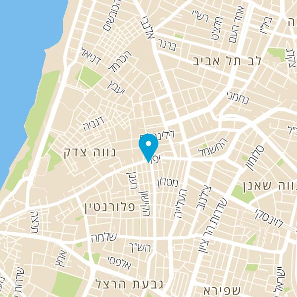 מפה של pizzot