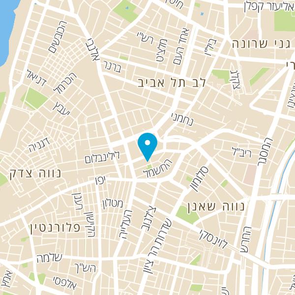 מפה של פיצה שירוקו