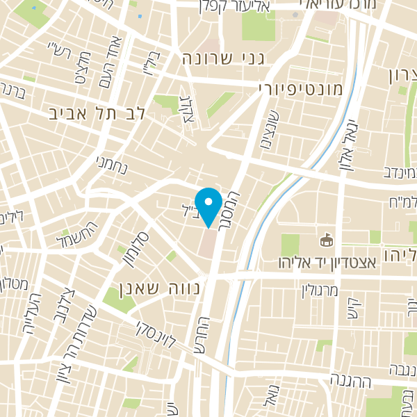 מפה של מוסך שאול