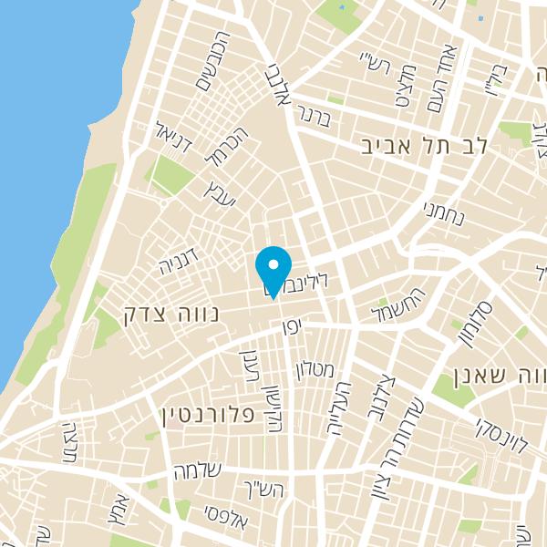 מפה של הפיצה של מיכאלה