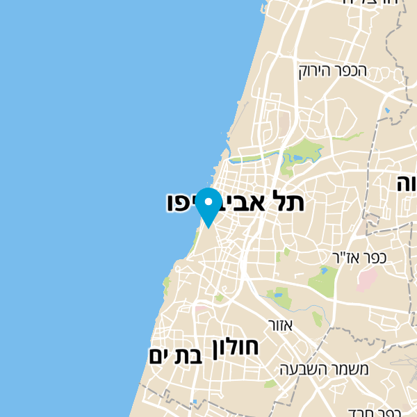 מפה של Ultra Bar