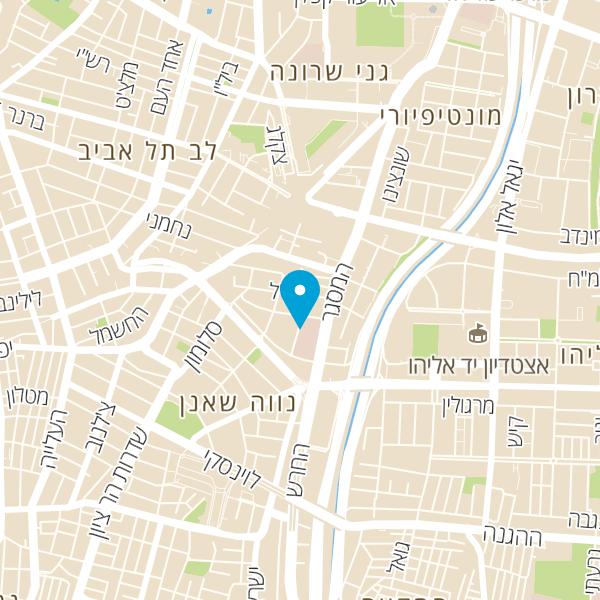 מפה של מרכז שירות אקספרסו