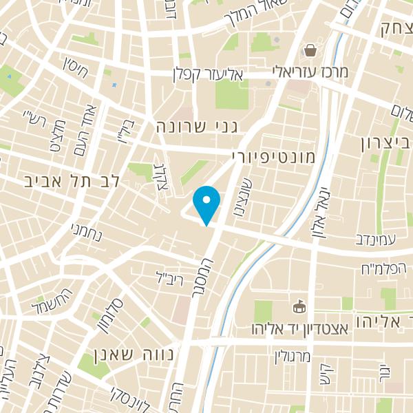 מפה של סנטרל פארק המלאכה