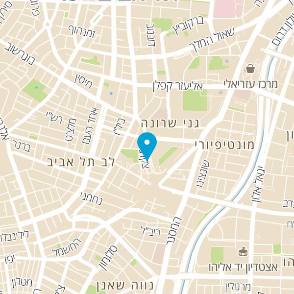 מפה של דומינוס פיצה