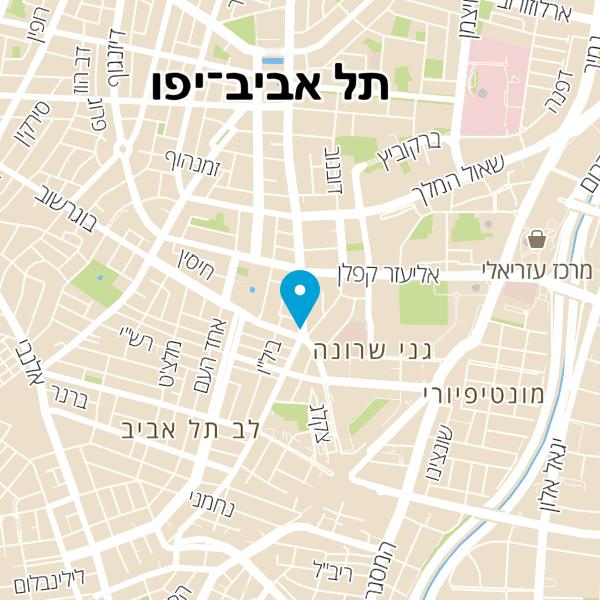 מפה של Queen TLV