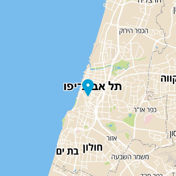 מפה של מלון סינמה