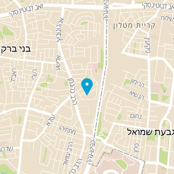 מפה של חסדי דוד המלך