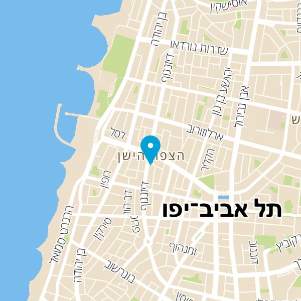 מפה של סוסו אנד סאנס