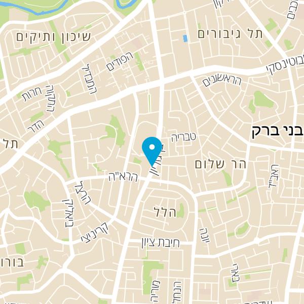מפה של טופ מצברים