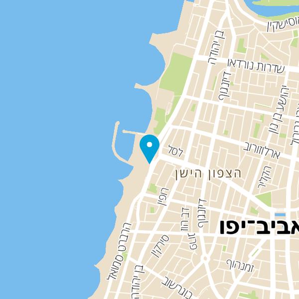 מפה של פור דו סול Por Do Sol