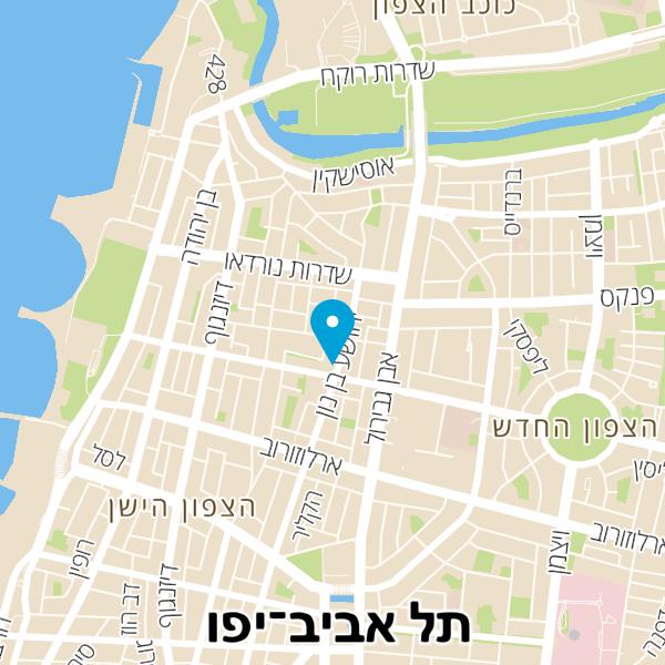 מפה של קפה חמנייה