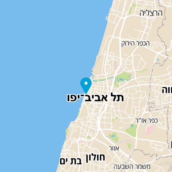 מפה של Hilton Bay