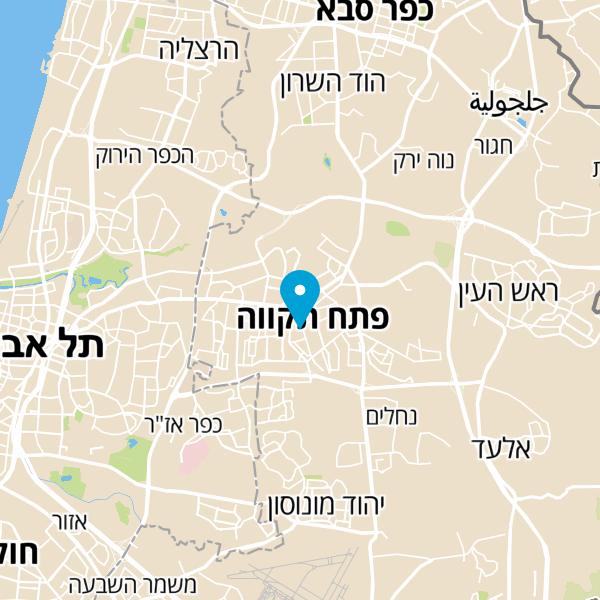 מפה של משה שרותי מנעולים והנדימן