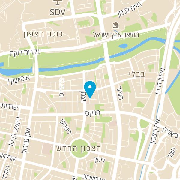 מפה של קפה בוקה Bucke Cafe