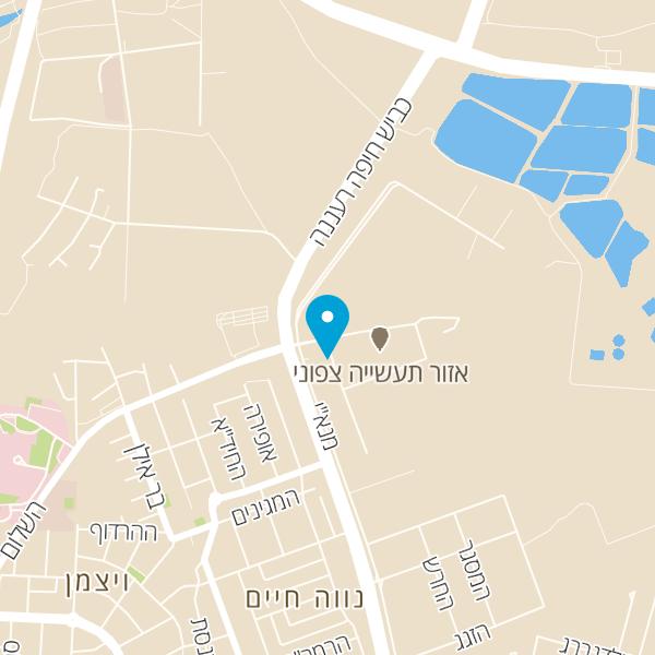 מפה של מוסך מורן
