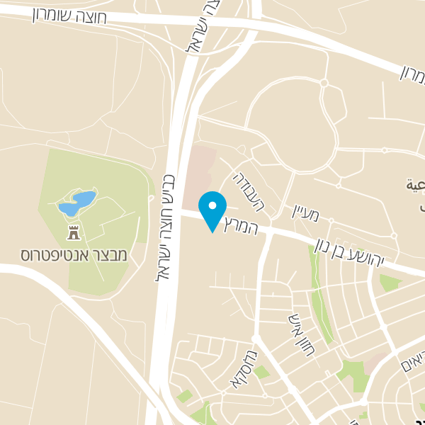מפה של צנובר גלריה לוילונות