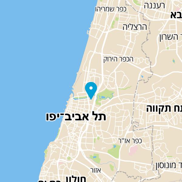 """מפה של מוזיאון הפלמ""""ח"""
