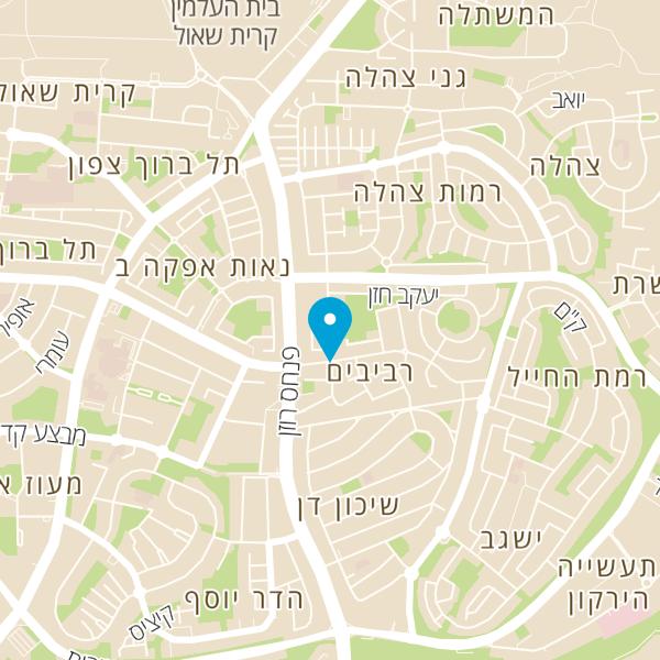 מפה של פרופ' גולדשטיין משה