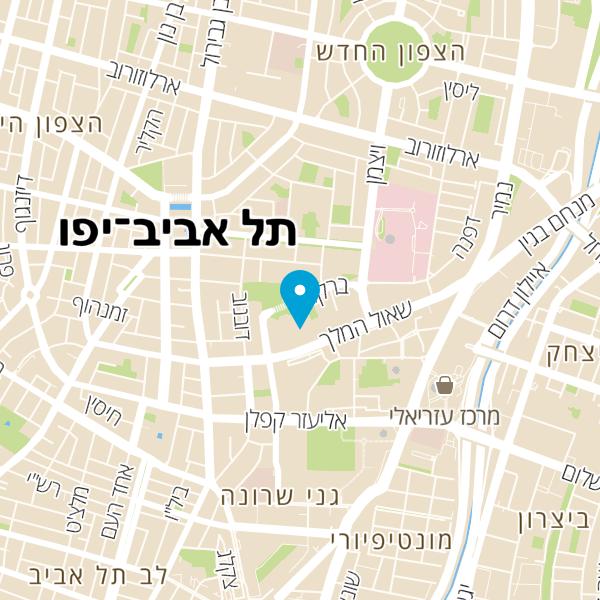 מפה של חניון גולדה ברקוביץ' 7